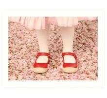 Spring Shoes Art Print