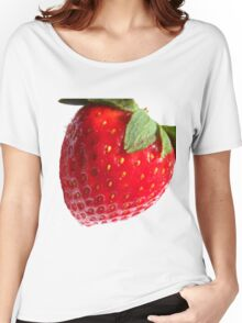Strawberry. Women's Relaxed Fit T-Shirt