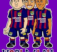 Bancelona - World Class Threesome by 442oons