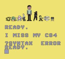 I miss my Commodore 64 Kids Clothes