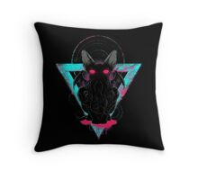 Cathulhu II Throw Pillow