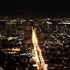 San Francisco Night Christmas shot by OPTATIVE