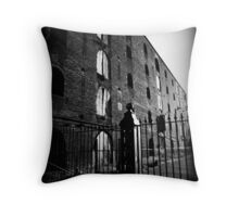 we would come here after school to be alone and kiss. Throw Pillow