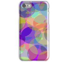 Color Circles iPhone Case/Skin