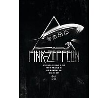Pink Zeppelin Photographic Print
