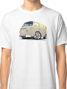 VW Bay Window Camper Van B Cream Classic T-Shirt