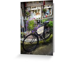 Bicycle of Flowers Greeting Card