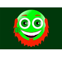 Leprechaun Smiley Photographic Print