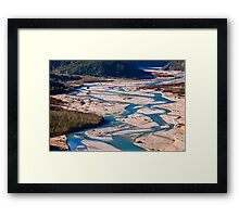 Veins of the Earth Framed Print