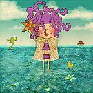 Milli on the sea by Martina Stroebel