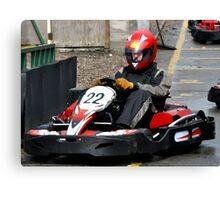 North East Air Ambulance Charity Go-Karting Canvas Print