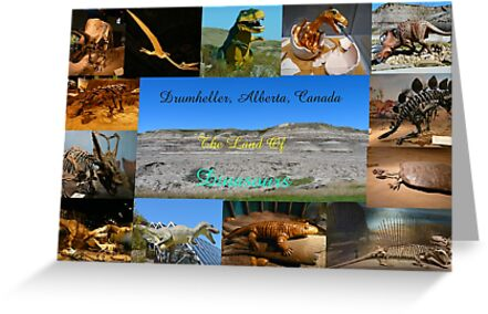 Dinasour City, Drumheller Alberta by MaeBelle