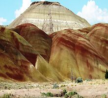"Carrol Rim rises above ""Painted Hills"" by Dave Sandersfeld"