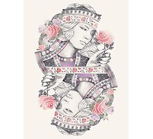 Queen of Roses Photographic Print