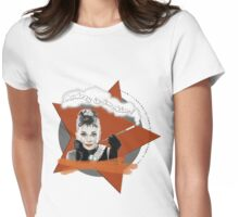 Audrey Hepburn in Breakfast at Tiffanys Womens Fitted T-Shirt