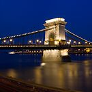 """budapest"" at night by Ty Cooper"