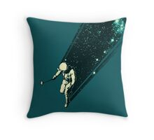 Cosmic Selfie Throw Pillow