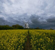 Aythorpe Roding Windmill by Nigel Bangert