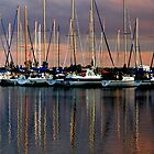 Sailboats on Lake Ontario by Jessica Dzupina