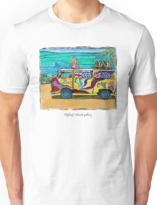 Surf Art /peace & love Unisex T-Shirt