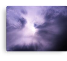 cloudy abstract Canvas Print