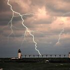 lighthouse storm by wolf6249107