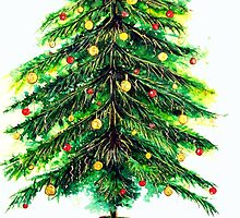 Christmas Tree by Linda Callaghan
