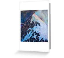 Everest south-east ridge Greeting Card