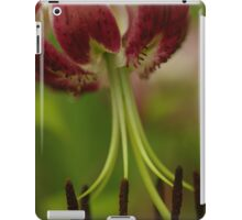 "Oriental Lily ""Black Beauty"" iPad Case/Skin"