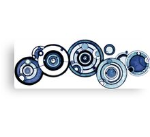 Doctor Who - The Doctor's name in Gallifreyan #4 Canvas Print