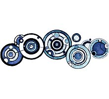 Doctor Who - The Doctor's name in Gallifreyan #4 Photographic Print
