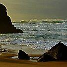 Adraga beach   - 6            Sintra      by BaZZuKa