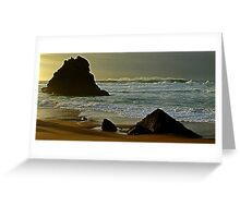 Adraga beach   - 6            Sintra      Greeting Card