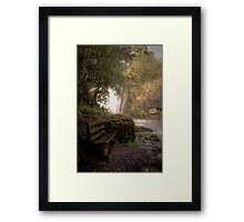 Wet Seat Framed Print