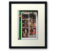 Traditional Toys at Christmas Framed Print