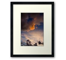 Sunset Cloudscape-Lord Howe Island Framed Print