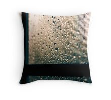 i love rainy days ♥ Throw Pillow