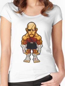 Sagat v.2 Women's Fitted Scoop T-Shirt
