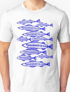 X-Ray Fish - Blue T-Shirt