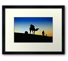 Time To Go Home Framed Print