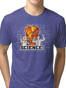 SCIENCE! III (improved) Tri-blend T-Shirt