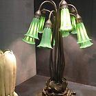 ten lilly lamp/ L.C. Tiffany by WonderlandGlass