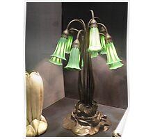 ten lilly lamp/ L.C. Tiffany Poster