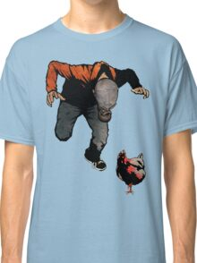 THE RETURN OF LEROY VS THE EVIL ZOMBIE CHICKEN! Classic T-Shirt