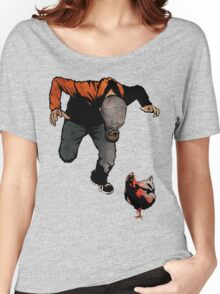 THE RETURN OF LEROY VS THE EVIL ZOMBIE CHICKEN! Women's Relaxed Fit T-Shirt