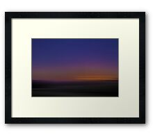 Sunset Hayz Framed Print