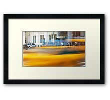 NYC Commute Framed Print