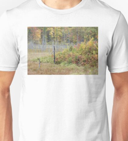 Wetland Fall Colors Unisex T-Shirt