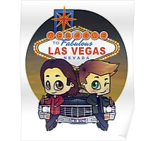 Winchesters in Vegas Poster