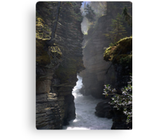 Athabasca Gorge (5) Canvas Print